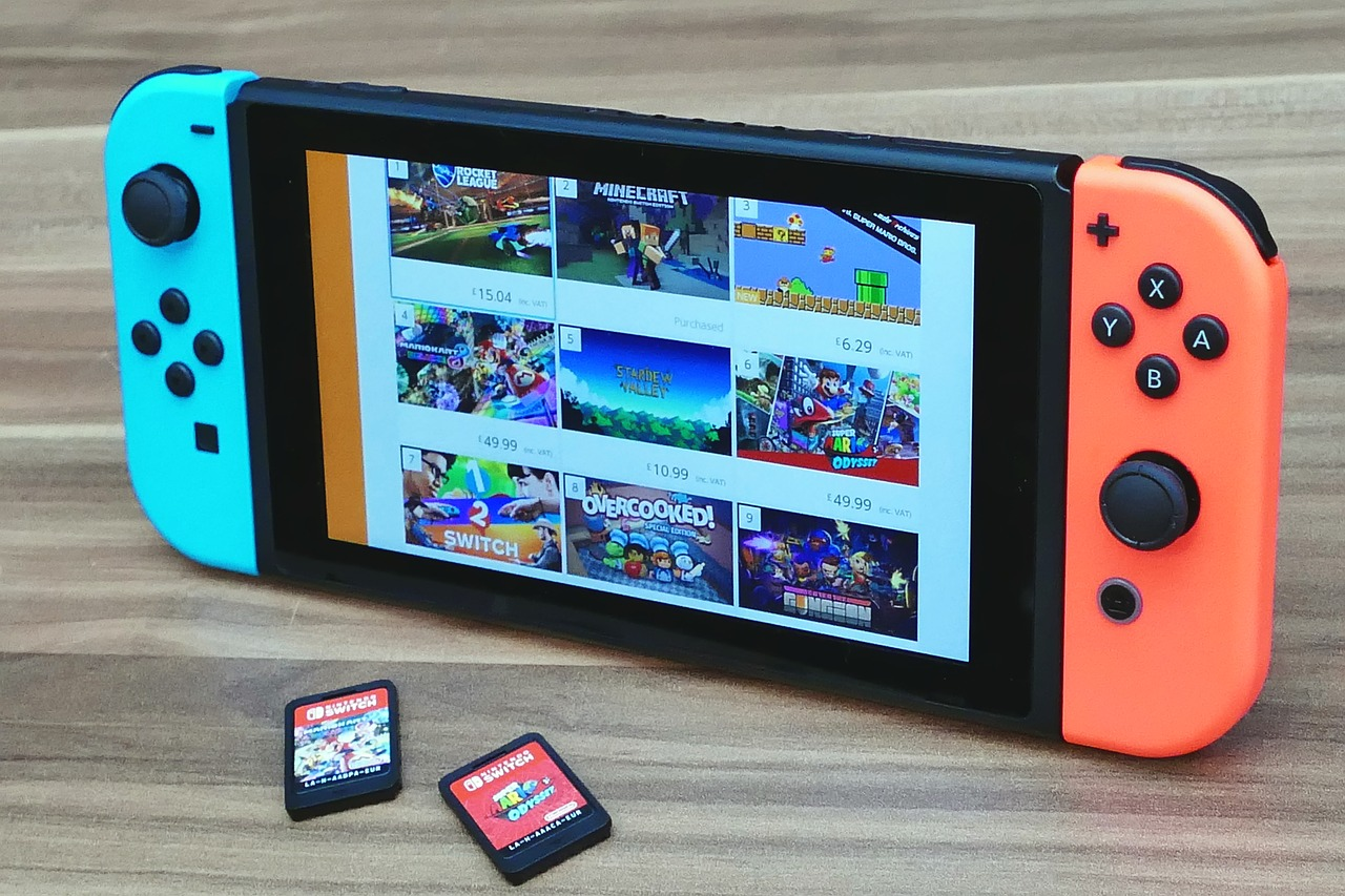 nintendo switch 3061237 1280 - Learning and Development Benefits of Playing Online Games